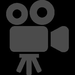 映写機のアイコン素材
